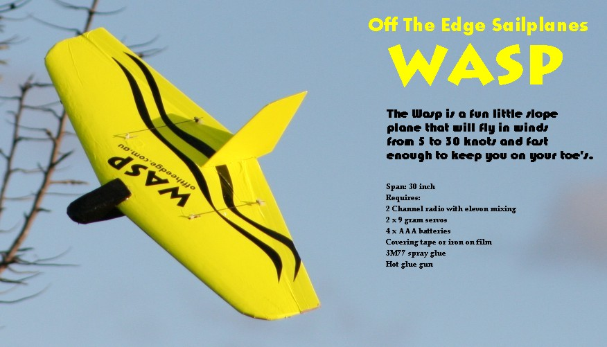Off The Edge Sailplanes :: Wasp